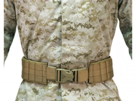 Pas Blackhawk Patrol Padded Belt 43-49 Coyote Brown