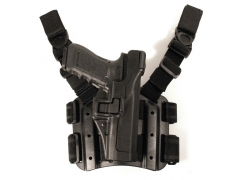 Kabura udowa Blackhawk Level 3 Serpa Tactical Holster 430614BK-R