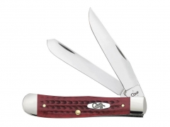 Scyzoryk Case Cutlery Pocket Worn Old Red Trapper 00783