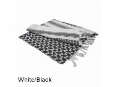 Arafatka Condor Shemagh 100% Cotton Black/White 201-005