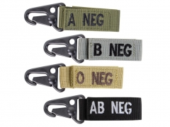Brelok Condor z grupą krwi A- Blood Key Chain Tan 239A-003