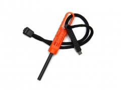 Krzesiwo Exotac polySTRIKER XL Orange/Black 1620-ORG