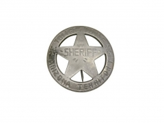 Odznaka Badges Of The Old West Tombstone Arizona Terr Sheriff
