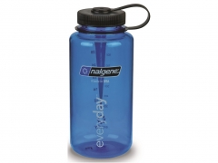 Butelka Nalgene Wide Mouth Blue 1L