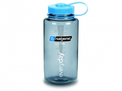 Butelka Nalgene Wide Mouth Gray 1L