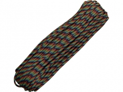 Paracord 550 Military Dark Stripes 30,48 m