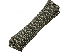 Paracord 550 Military Forest Camo 30,48 m