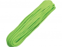 Paracord 550 Neon Green 30,48 m