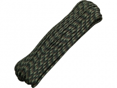 Paracord 550 Military Woodland Camo 30,48 m