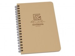 Notes Rite in the Rain 973T Side Spiral Notebook Tan