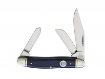 Scyzoryk Rough Rider Stockman Blue Smooth Bone RR1954