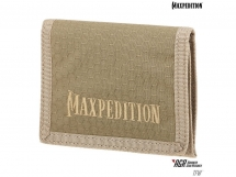 Portfel Maxpedition AGR Tri Fold Wallet Tan TFWTAN